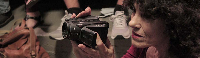 Paula with camera